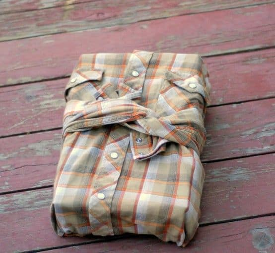 last minute fathers day gift wrap