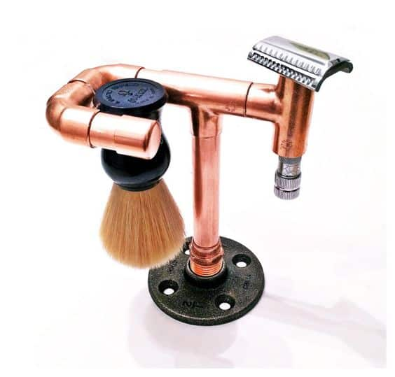 copper piping shave stand