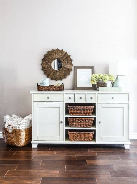 farmhouse sideboard upcycle