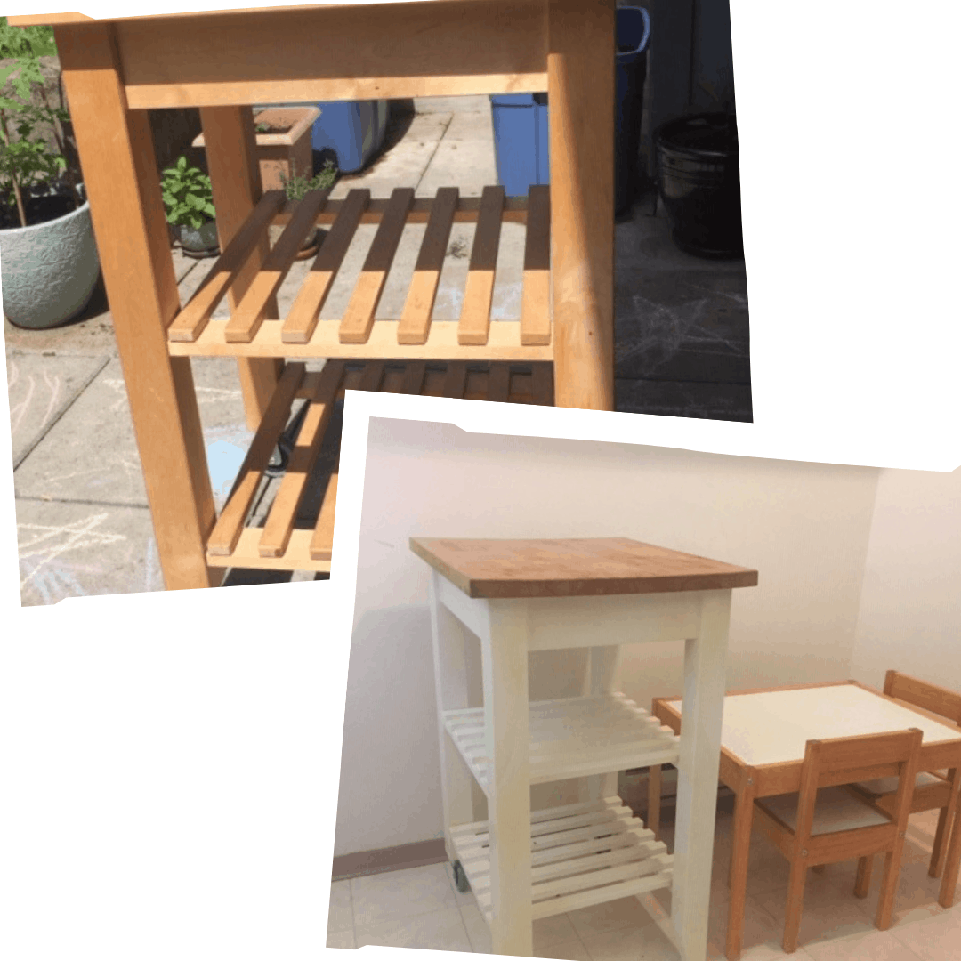 kitchen trolley Upcycle