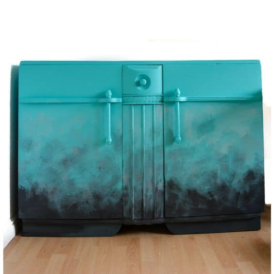 Vicky Myers ombre sideboard