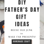 homemade fathers day presents