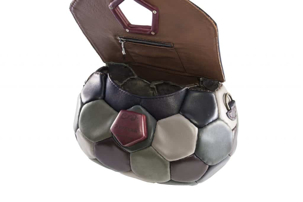 soccer ball handbag clutch