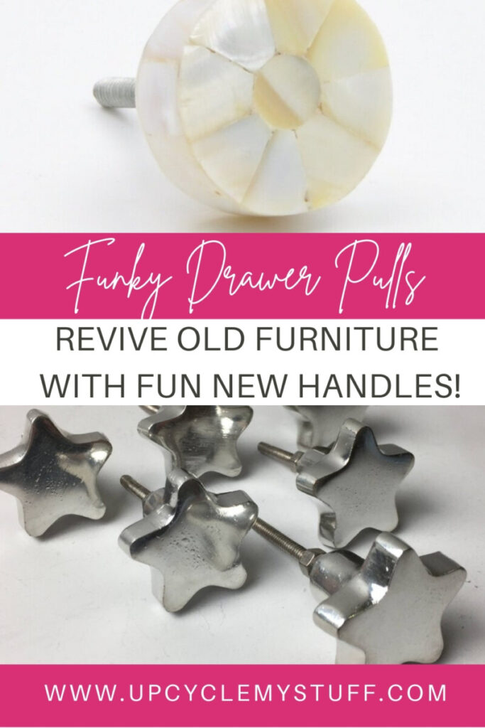 drawer handles and knobs for DIY furniture makeovers