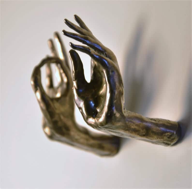 hands drawer pull