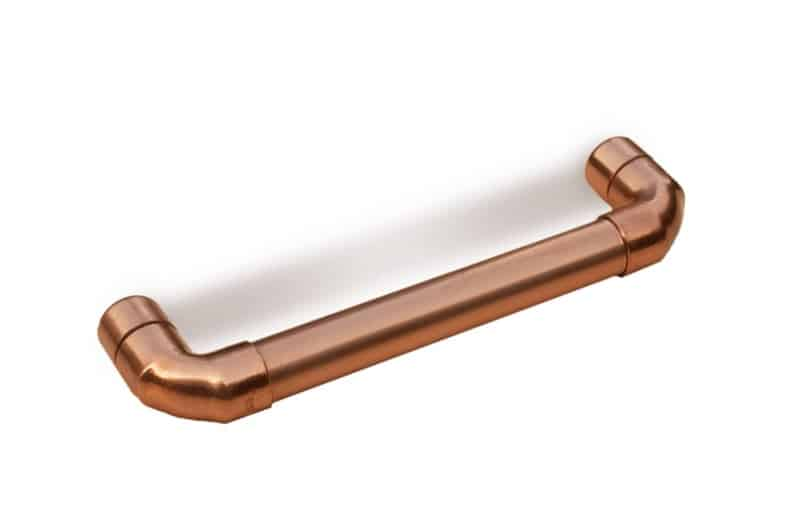 copper drawer handles