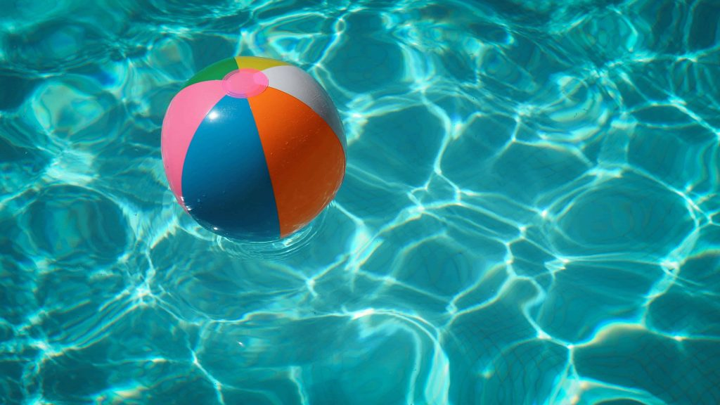 beach ball upcycle project