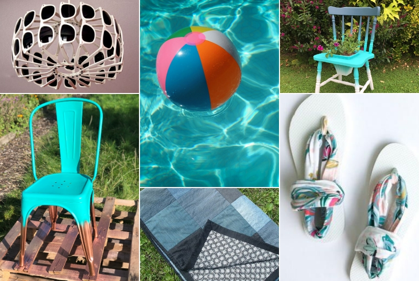 summer upcycling ideas DIY