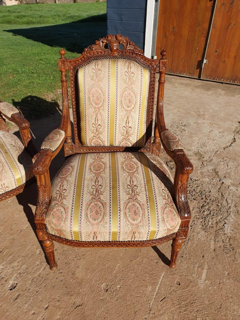 French chair Upcycle tutorial