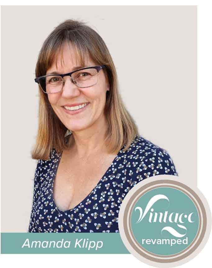 Amanda klipp vintage revamped