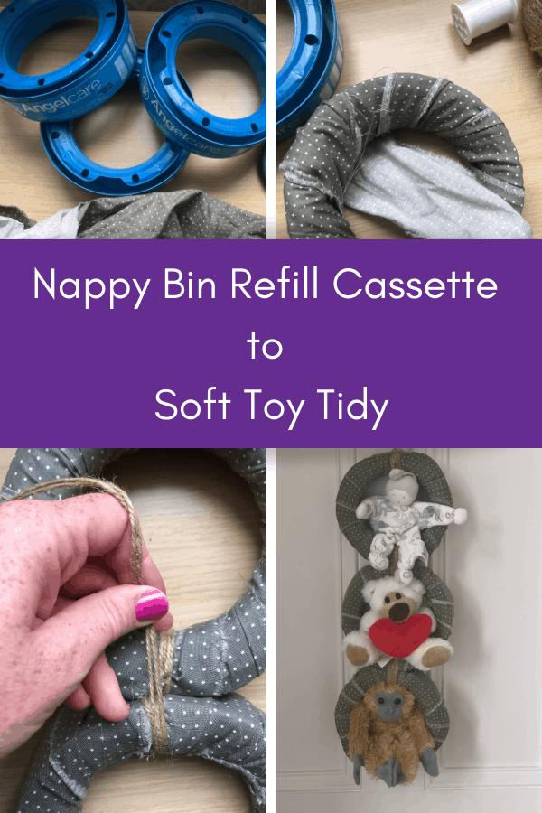 nappy bin refill cassette to soft toy tidy