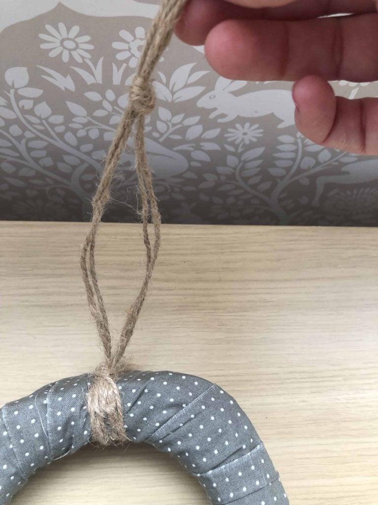 DIY soft toy tidy