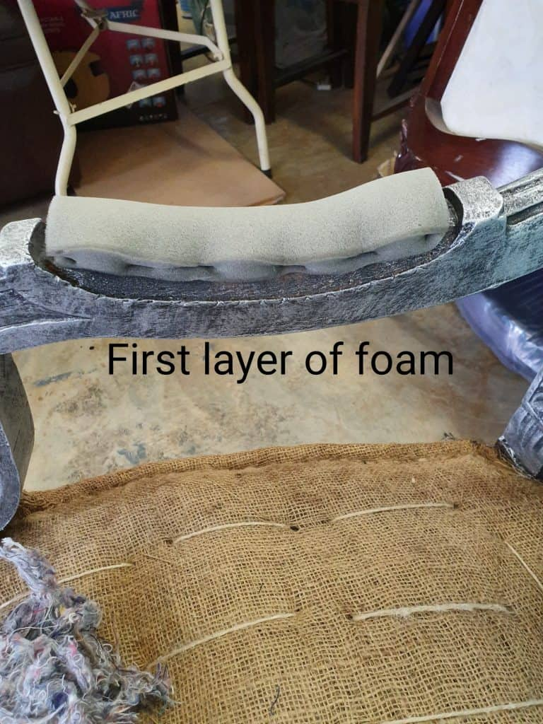 how to reupholster arm rests