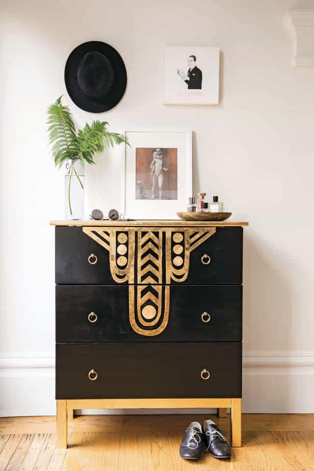 Art Deco furniture makeover