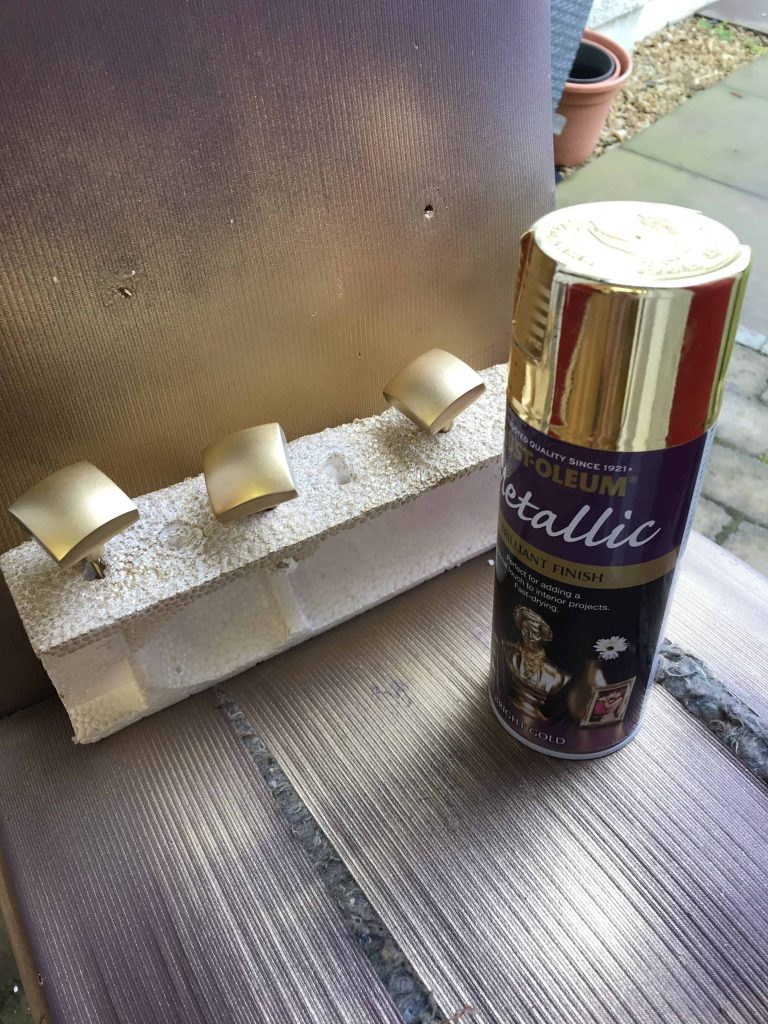 upcycled drinks cabinet handles