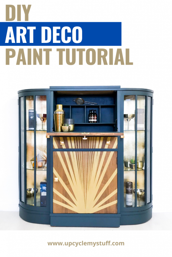 diy art deco paint tutorial