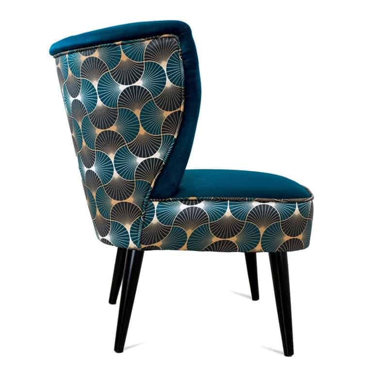Art Deco reupholstery makeover