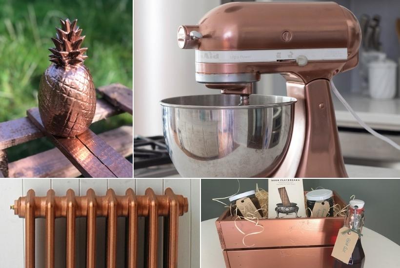 11 fabulous copper spray paint diy ideas