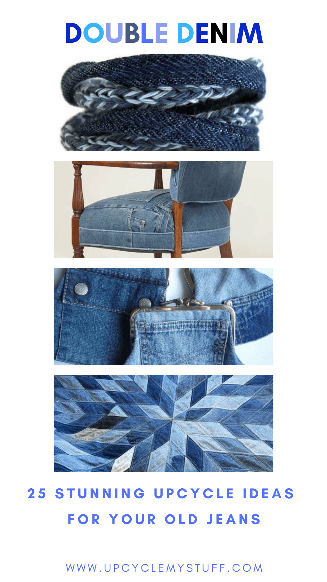 ways to reuse old jeans upcycling projects
