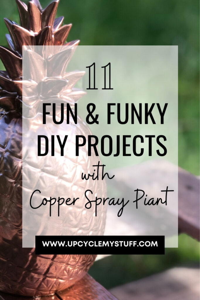 DIY projects for copper spray paint