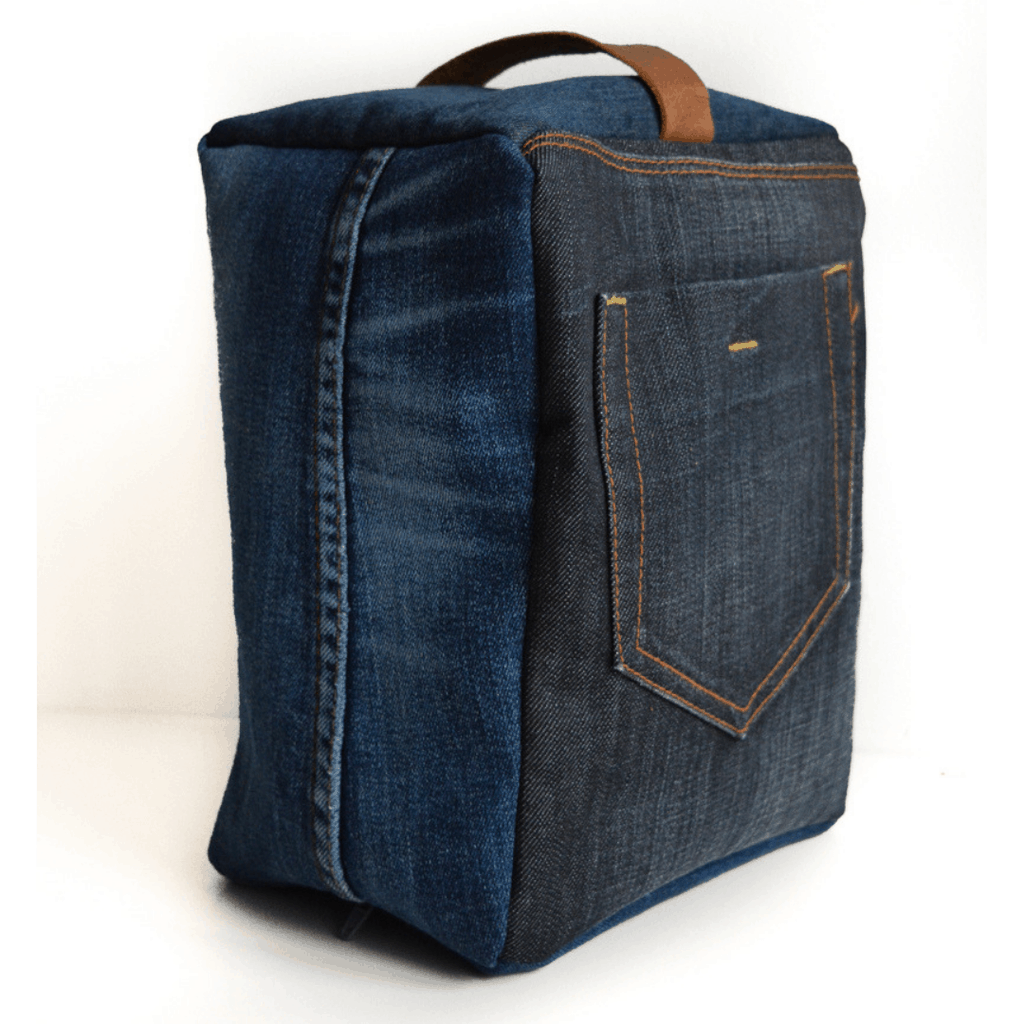 doorstop upcycled from old jeans tutorial