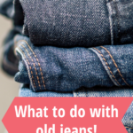 projects for old jeans
