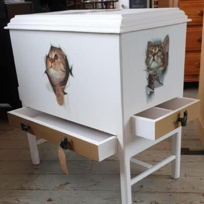 cat chest on etsy