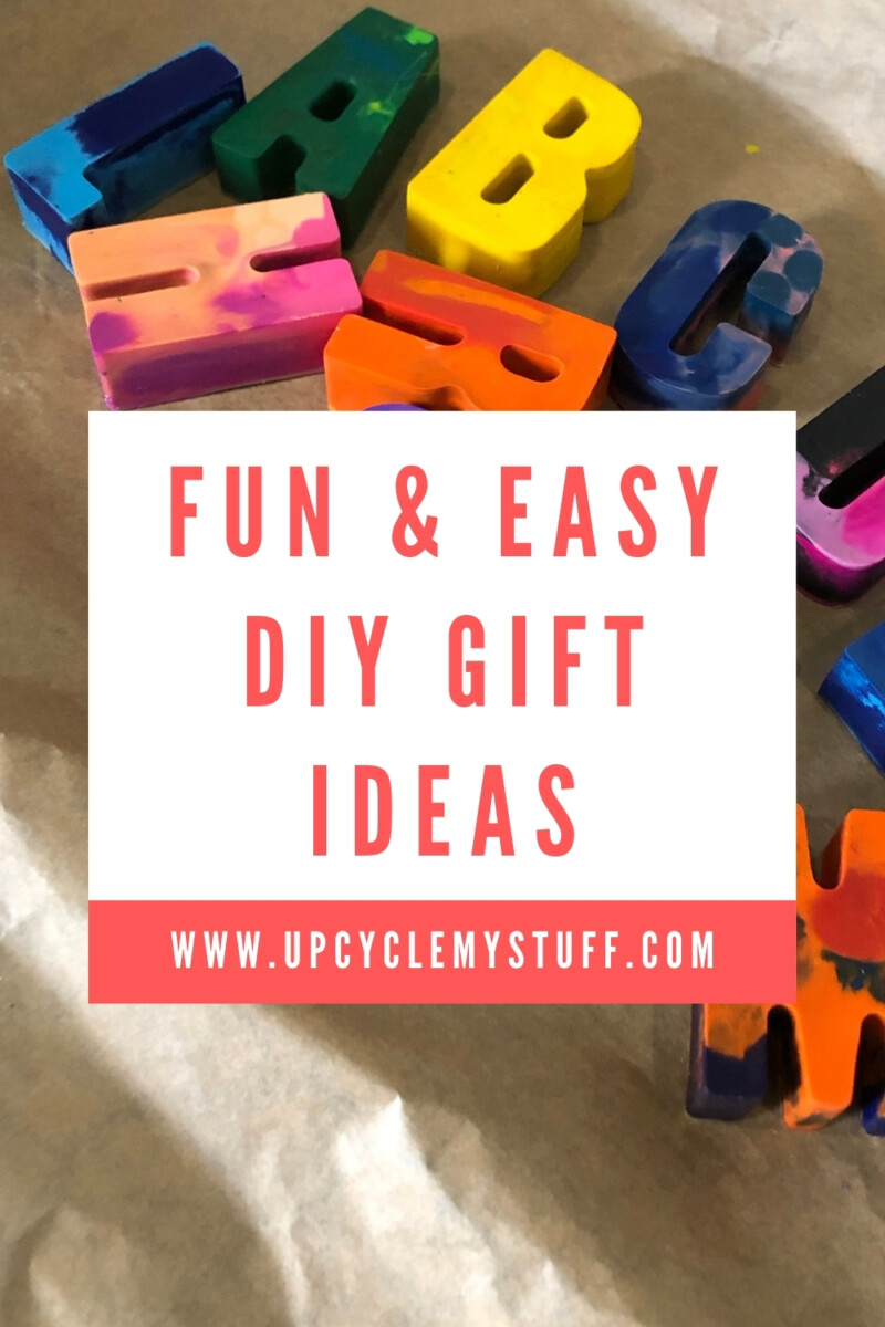 personalised diy gift ideas