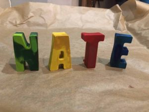 diy name crayons