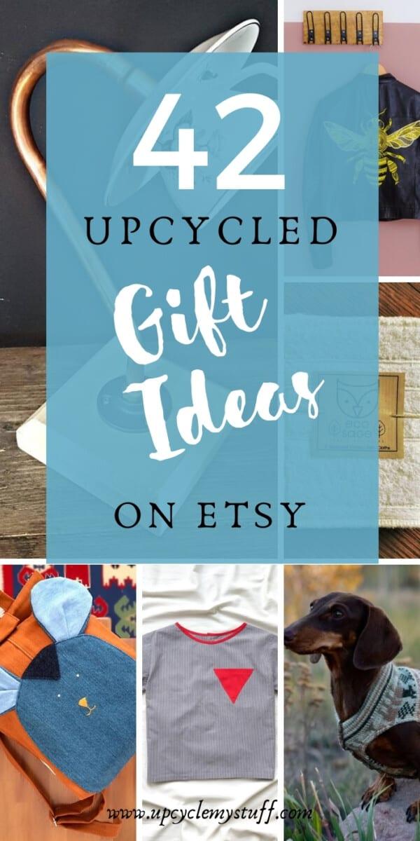 upcycled gift ideas on etsy