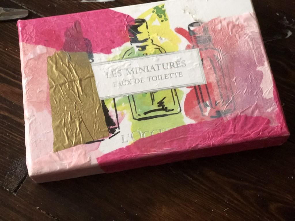 reuse packaging as gift wrap