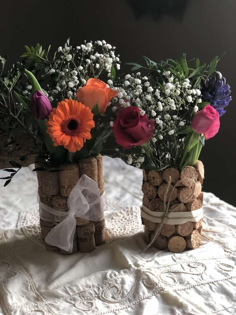 diy farmhouse wedding centrepiece