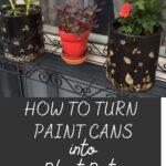 paint can planter idea