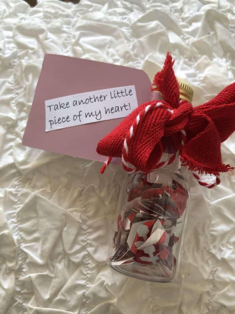 diy handmade valentine's day gift