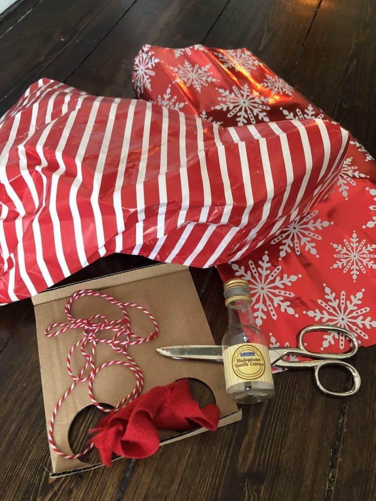 DIY valentine's day gift token gift materials