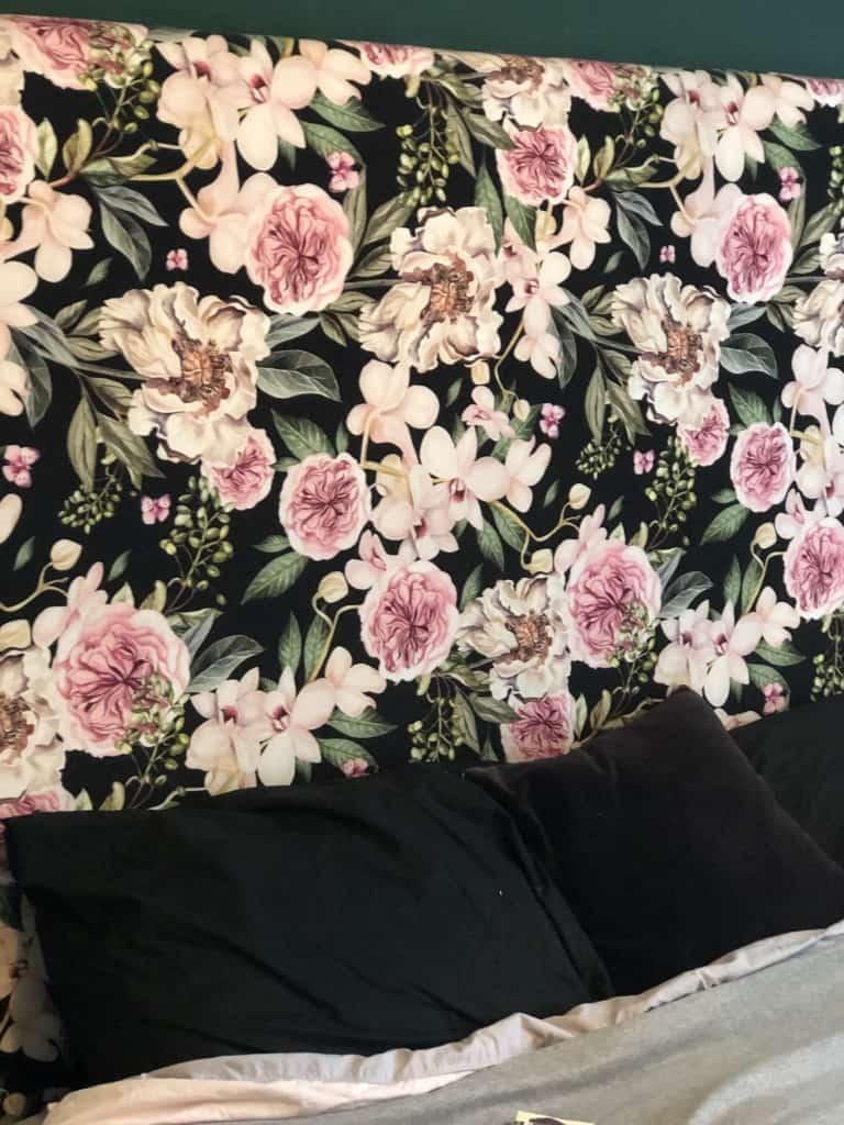 DIY headboard upholstery