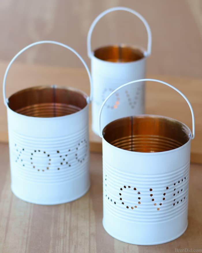 tin can love lanterns handmade valentine's day gift idea