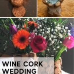 diy cork table centerpiece