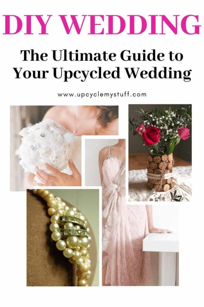 DIY wedding ideas upcycled wedding