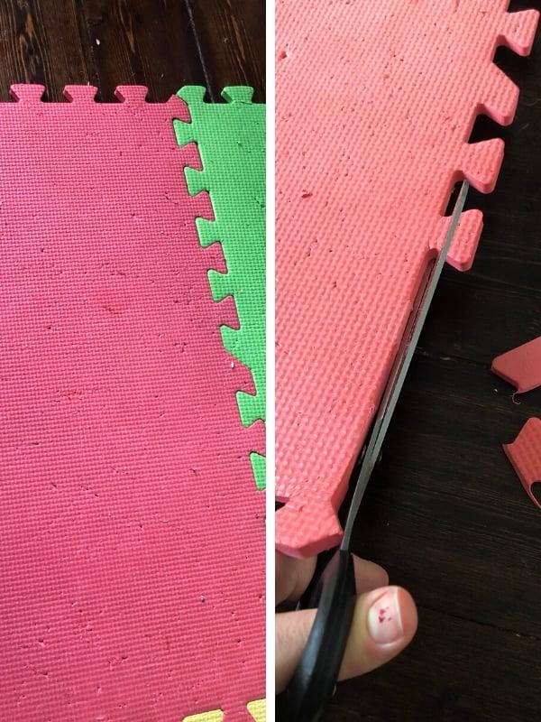 DIY rag rug tutorial