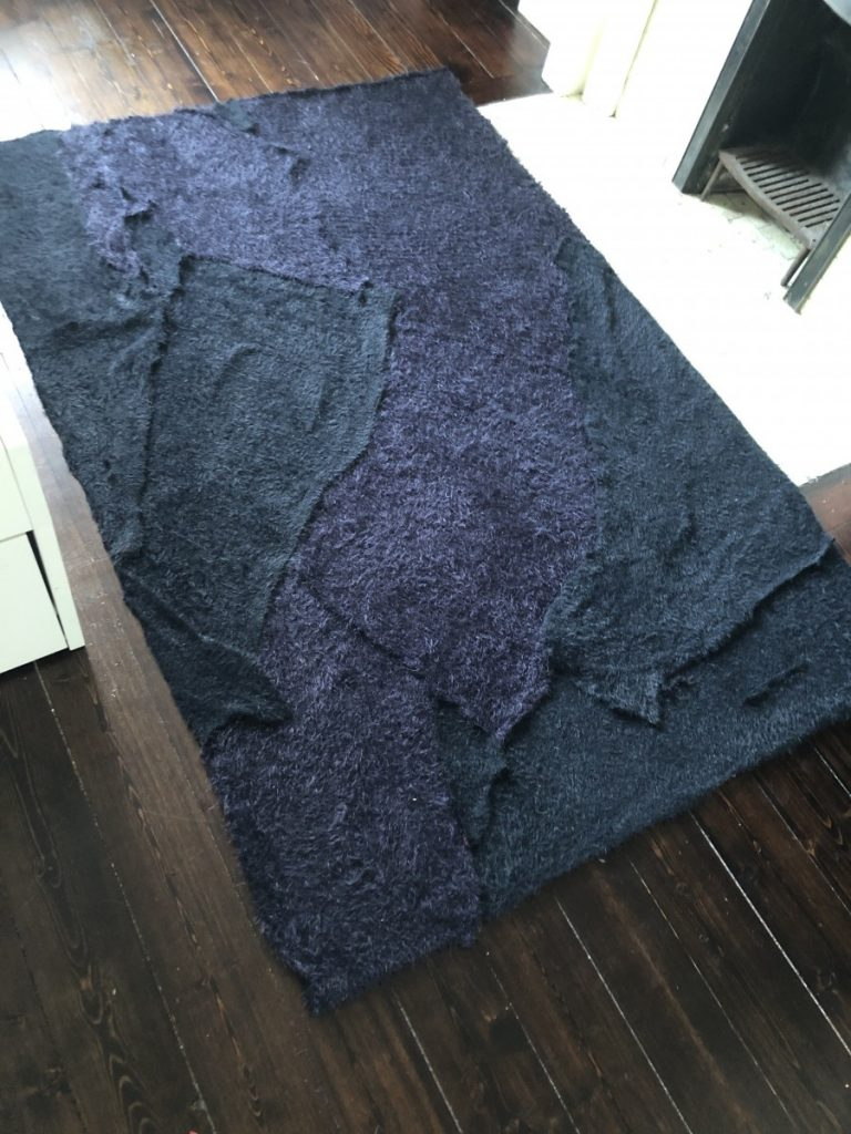 diy rag rug no sewing