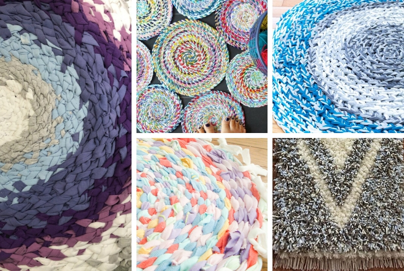 9 ways to make a rag rug