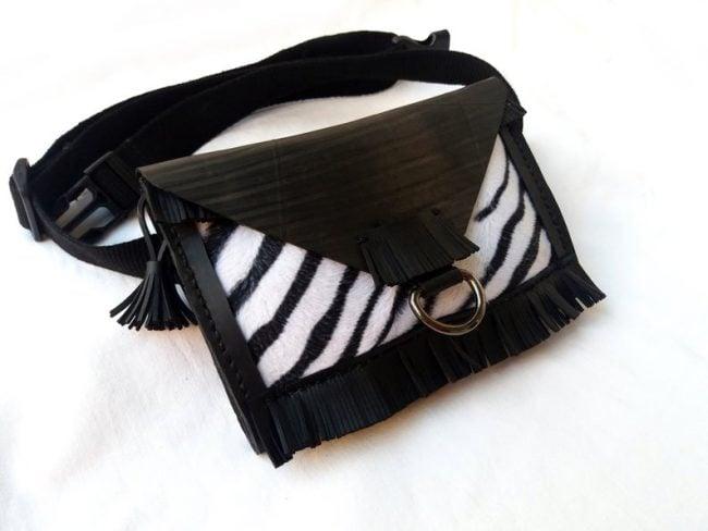 belt bag from inner tubes - mothers day gift on etsy