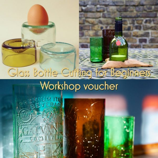 glass bottle cutting workshop gift idea