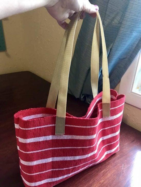 DIY Tote Bag Ideas - placemat tote