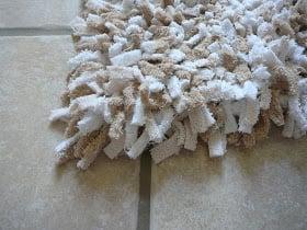 shag towel rag rug