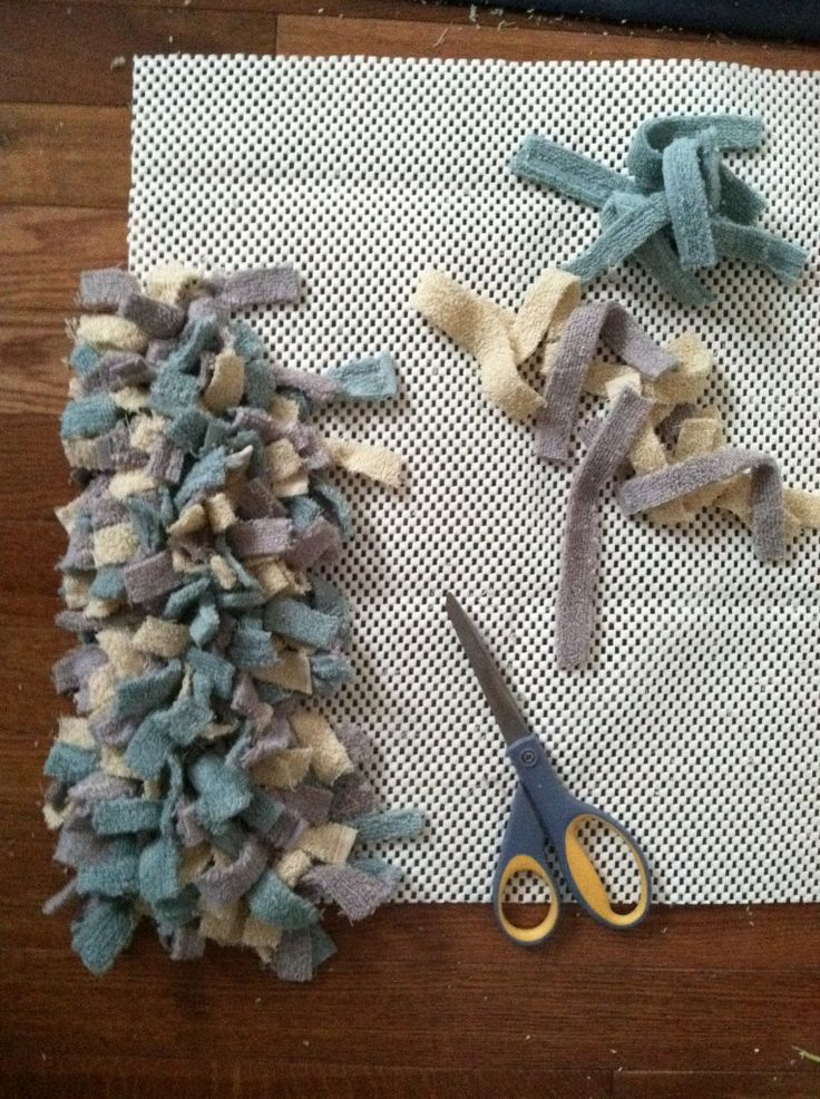 towel rag rug