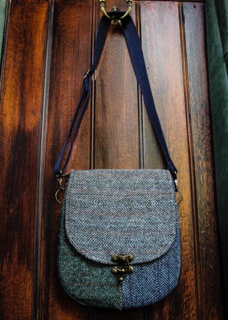 upcycled tweed handbag mothers day gift