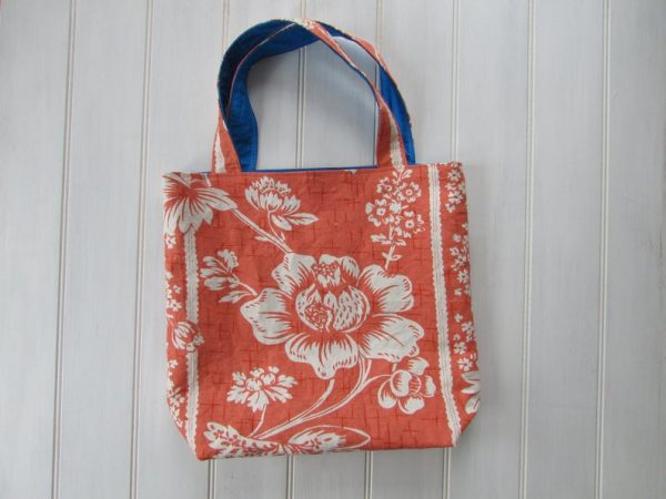 upcycled tote bag on etsy mothers day gift idea