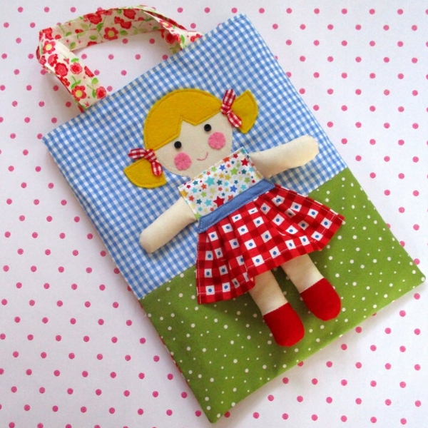 dolly on a bag sewing pattern